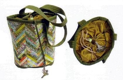 схемы вязания сумки в технике макраме.